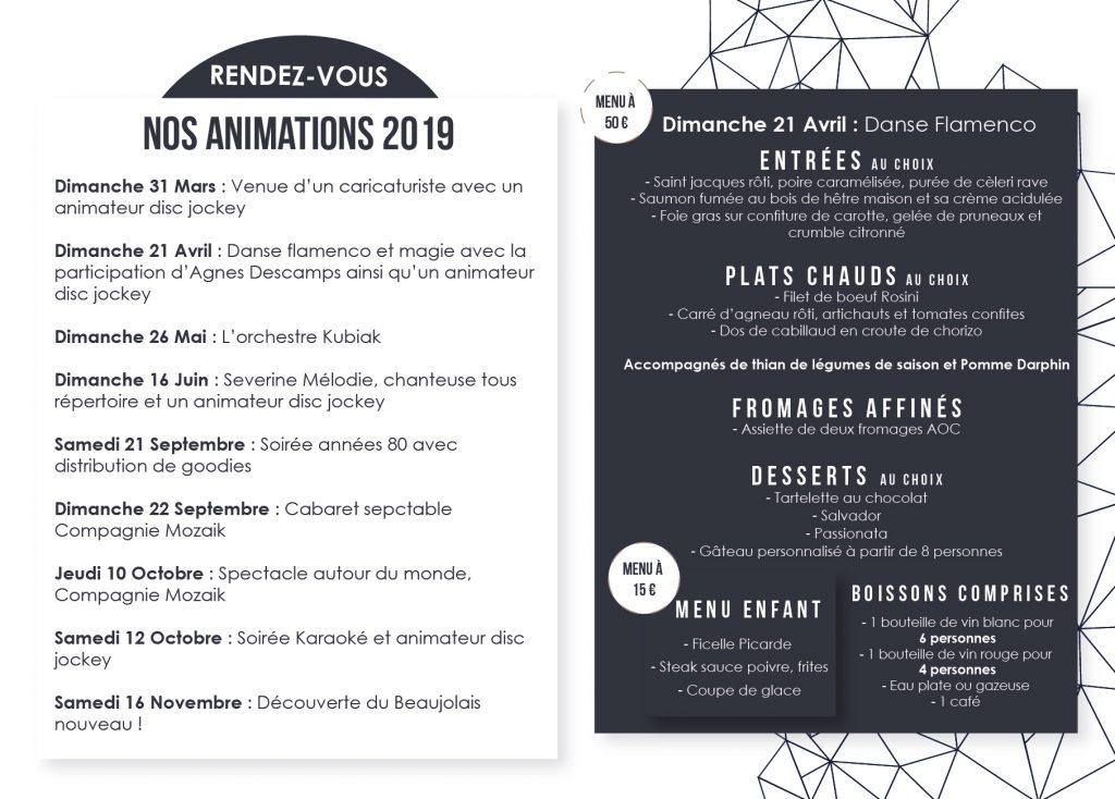 Menu animation 21 Avril 2019